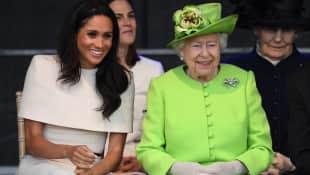 Herzogin Meghan und Königin Elisabeth II. scheinen sich gut zu verstehen