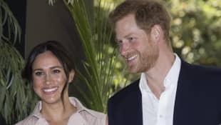 Herzogin Meghan und Prinz Harry planen eine Reise nach London