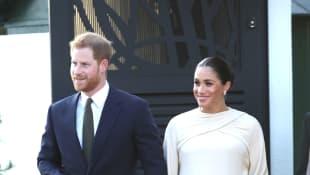 In Marokko legen Herzogin Meghan und Prinz Harry einen perfekten Auftritt hin