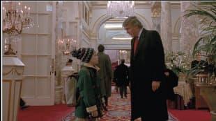 """Macaulay Culkin und Donald Trump in """"Kevin - Allein in New York"""""""