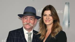 Horst Lichter mit Frau Nada