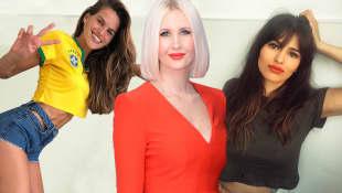 Izabel Goulart, Lorelei Taron und Sara Sálamo zählen zu den heißesten Spielerfrauen der WM 2018!