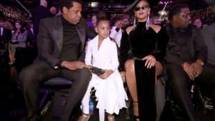 Jay-Z und Beyoncé mit Blue Ivy