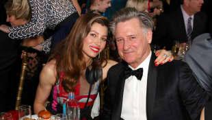 Jessica Biel und Bill Pullman