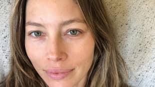 Jessica Biel ist auch ohne Make Up eine Schönheit