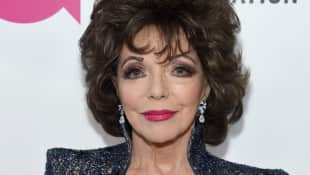 "Joan Collins bei der 26. ""Elton John AIDS Foundation Academy Awards"" 2018"