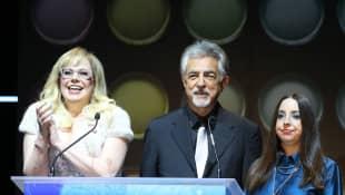 Joe Mantegna und Tochter Mia