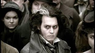 "Johnny Depp in ""Sweeney Todd"""