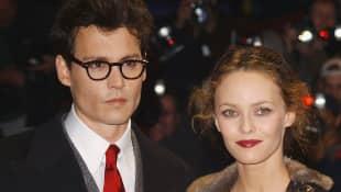Johnny Depp und Vanessa Paradis im Jahr 2004