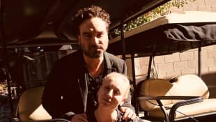 johnny galecki kaley cuoco instagram 2017