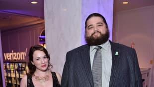 Jorge Garcia und Rebecca Birdsall