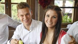 Joshua Kimmich und Lina Meyer