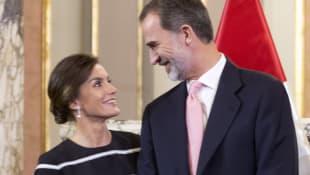 König Felipe und Königin Letizia