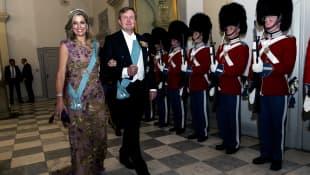König Willem Alexander der Niederlande und seine Frau Maxima