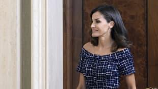 Königin Letizia Kleid