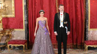 Königin Letizia und König Felipe VI.
