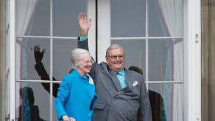 Königin Margrethe und Prinz Henrik