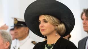 Königin Maxima der Niederlande trauert um ihre Schwester Inés