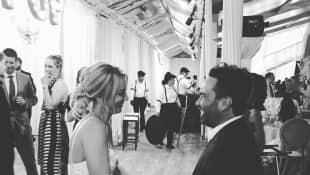 Hochzeit Kaley Cuoco und Johnny Galecki feieren zusammen
