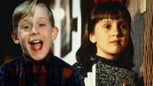 Macaulay Culkin und Mara Wilson