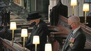 Königin Elisabeth II. und Prinz Andrew