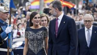 Königin Letizia, Königin Sofia und König Felipe IV.