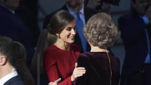 Königin Letizia Königin Sofia Spanien Ohrringe
