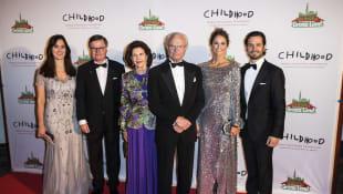 Königin Silvia, König Carl Gustaf, Prinzessin Madeleine, Prinz Carl Philip