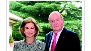 König Juan Carlos und Königin Sofia von Spanien
