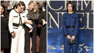 Kristen Stewart und Iris Law im gleichen Outfit