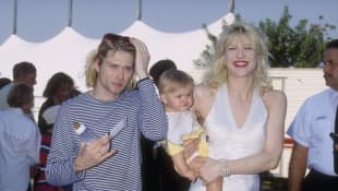 Kurt Cobain, Courtney Love und Frances Bean Cobain 1993