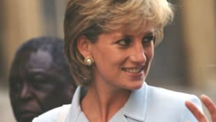 Lady Diana am 06. Juni 1997
