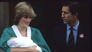 Lady Diana, Prinz Charles und Prinz William