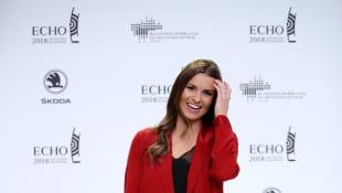 Laura Wontorra beim Echo 2018
