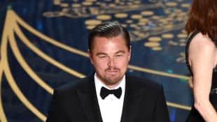 Leonardo DiCaprio Oscars Stinkefinger
