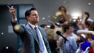 """Leonardo DiCaprio in """"The Wolf of Wall Street"""""""