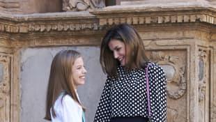 Königin Letizia und Tochter Sofia