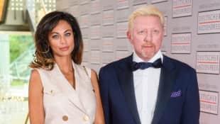 Lilly und Boris Becker beim Deutschen Medienpreis 2016