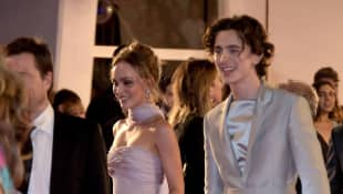 Lily Rose Depp und  Timothee Chalamet