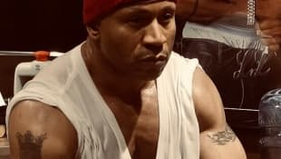 LL Cool J durchtrainiert Muskeln