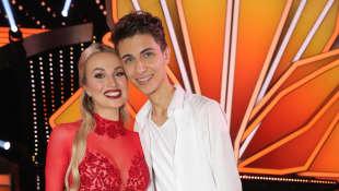 Katja Kalugina und Lukas Rieger