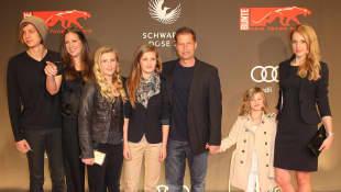 Til Schweiger und seine Familie im Jahr 2011