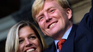Königin Máxima und König Willem-Alexander 2001