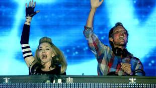 Madonna und Avicii bei einem gemeinsamen Auftritt