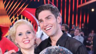 "Maite Kelly und Christian Polanc als strahlende ""Let's Dance""-Sieger"