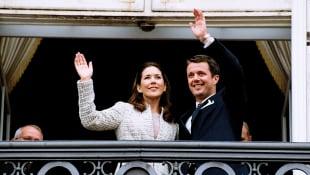 Prinzessin Mary und Prinz Frederik 2003