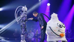 """""""The Masked Singer""""-Roboter und Wuschel"""