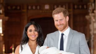 Prince Harry, Duchess Meghan and Baby Sussex