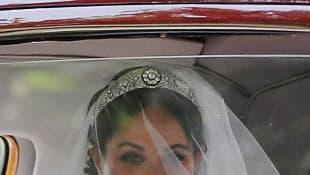 Meghan Markle als Braut