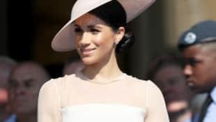 Meghan Markle auf der Garten-Party zu Prinz Charles' 70. Geburtstag